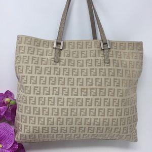 Preowned Authentic Fendi Satchel Bag